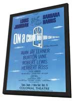 On A Clear Day You Can See Forever (Broadway) - 11 x 17 Poster - Style A - in Deluxe Wood Frame