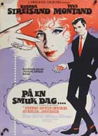 On a Clear Day You Can See Forever - 27 x 40 Movie Poster - Danish Style A