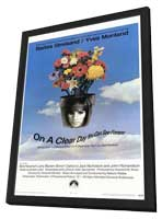 On a Clear Day You Can See Forever - 11 x 17 Movie Poster - Style A - in Deluxe Wood Frame