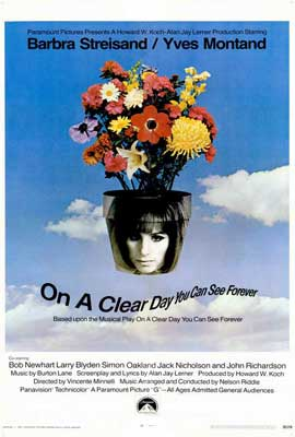 On a Clear Day You Can See Forever - 27 x 40 Movie Poster - Style A