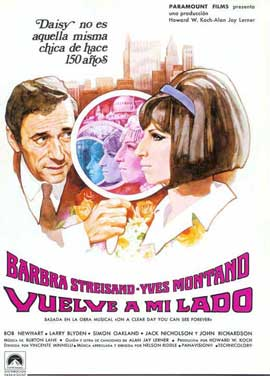 On a Clear Day You Can See Forever - 11 x 17 Movie Poster - Spanish Style A