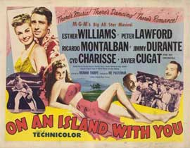 On an Island With You - 11 x 14 Movie Poster - Style A