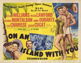 On an Island With You - 11 x 14 Movie Poster - Style B