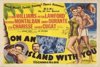 On an Island With You - 27 x 40 Movie Poster - Style B