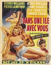 On an Island With You - 11 x 17 Movie Poster - Belgian Style A