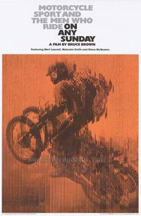 On Any Sunday - Movie Poster - 24 x 36 - Style A