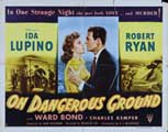 On Dangerous Ground - 22 x 28 Movie Poster - Half Sheet Style A