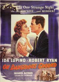 On Dangerous Ground - 11 x 17 Movie Poster - Style C