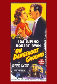 On Dangerous Ground - 11 x 17 Movie Poster - Style B