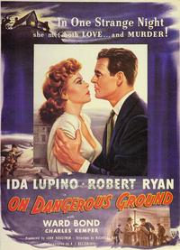 On Dangerous Ground - 43 x 62 Movie Poster - Bus Shelter Style A