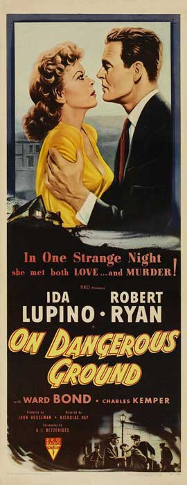 On Dangerous Ground - 14 x 36 Movie Poster - Insert Style A