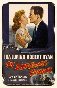 On Dangerous Ground - 11 x 17 Movie Poster - Style D