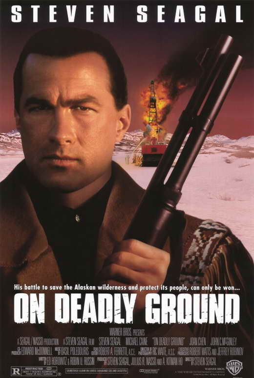 On Deadly Ground Movie Posters From Movie Poster Shop