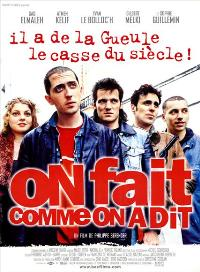 On fait comme on a dit - 11 x 17 Movie Poster - French Style A