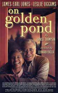 On Golden Pond (Broadway) - 27 x 40 Poster - Style A