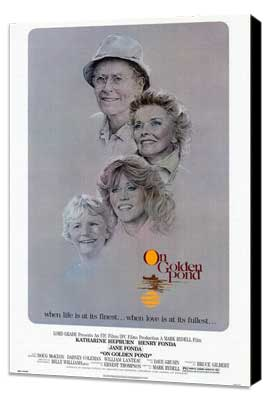 On Golden Pond - 27 x 40 Movie Poster - Style A - Museum Wrapped Canvas