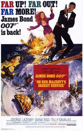 On Her Majesty's Secret Service - 11 x 17 Movie Poster - Style B