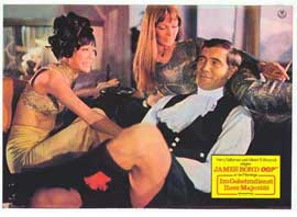 On Her Majesty's Secret Service - 11 x 14 Poster German Style N