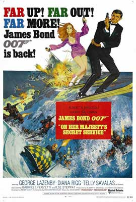 On Her Majesty's Secret Service - 27 x 40 Movie Poster - Style B