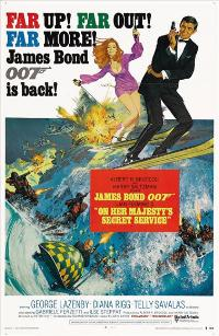 On Her Majesty's Secret Service - 43 x 62 Movie Poster - Bus Shelter Style B