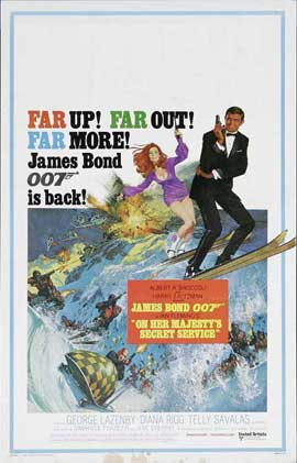 On Her Majesty's Secret Service - 11 x 17 Movie Poster - UK Style A