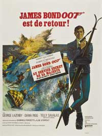 On Her Majesty's Secret Service - 11 x 17 Movie Poster - French Style C