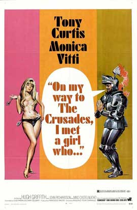 On My Way to The Crusades, I Met a Girl Who - 11 x 17 Movie Poster - Style A