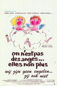On n'est pas des anges... elles non plus - 11 x 17 Movie Poster - Belgian Style A