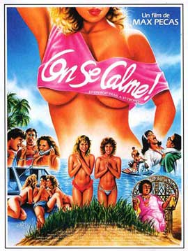 On se calme et on boit frais a Saint-Tropez - 11 x 17 Movie Poster - Spanish Style A