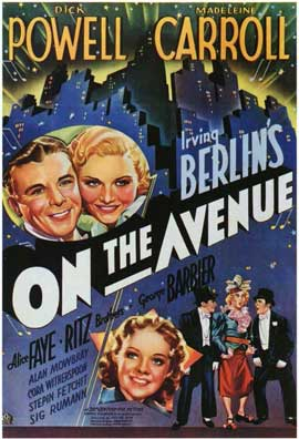 On the Avenue - 11 x 17 Movie Poster - Style A