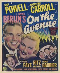 On the Avenue - 11 x 17 Movie Poster - Style B