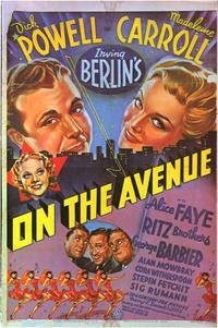 On the Avenue - 11 x 17 Movie Poster - Style C