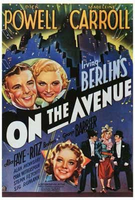 On the Avenue - 27 x 40 Movie Poster - Style A