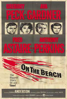 On the Beach - 11 x 17 Movie Poster - Style D