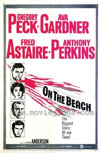 On the Beach - 43 x 62 Movie Poster - Bus Shelter Style A