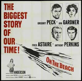 On the Beach - 30 x 30 Movie Poster - Style A