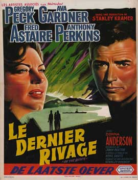 On the Beach - 11 x 17 Movie Poster - Belgian Style A