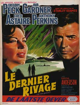 On the Beach - 27 x 40 Movie Poster - Belgian Style A
