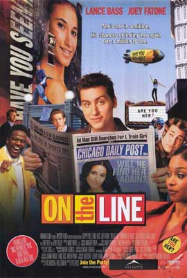On the Line - 11 x 17 Movie Poster - Style A