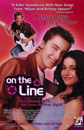 On the Line - 11 x 17 Movie Poster - Style B