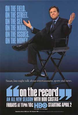 On the Record with Bob Costas - 27 x 40 TV Poster - Style A