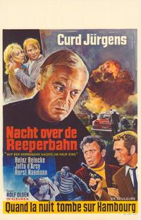 On the Reeperbahn at Half Past Midnight - 11 x 17 Movie Poster - Belgian Style A
