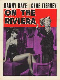 On the Riviera - 27 x 40 Movie Poster - Style A