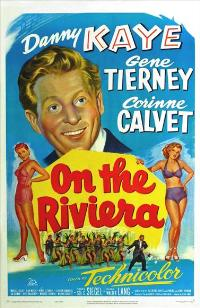 On the Riviera - 27 x 40 Movie Poster - Style B