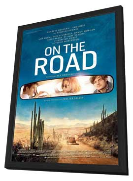 On the Road - 11 x 17 Movie Poster - Style A - in Deluxe Wood Frame