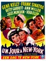 On the Town - 11 x 17 Movie Poster - Belgian Style A