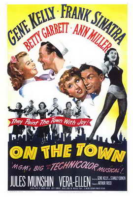On the Town - 27 x 40 Movie Poster - Style A