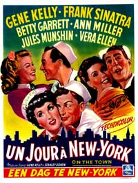 On the Town - 27 x 40 Movie Poster - Belgian Style A