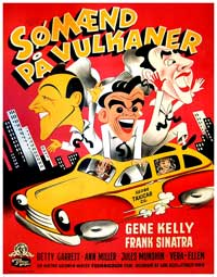 On the Town - 27 x 40 Movie Poster - Danish Style A