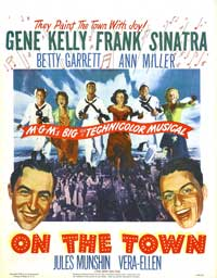 On the Town - 27 x 40 Movie Poster - Style B